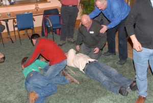 First Aid Training in action